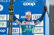 16.02.2020, Oestersund, Sweden (SWE):Martin Loewstroem Nyenget (NOR) - FIS world cup cross-country, pursuit men, Oestersund (SWE). www.nordicfocus.com. © THIBAUT/NordicFocus. Every downloaded picture is fee-liable.