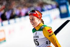 29.02.2020, Lahti Finland (FIN):Katharina Hennig (GER) - FIS world cup cross-country, 10km women, Lahti (FIN). www.nordicfocus.com. © Modica/NordicFocus. Every downloaded picture is fee-liable.