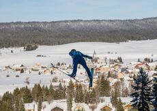 18.01.2019, Chaux-Neuve, France (FRA):Eric Frenzel (GER) - FIS world cup nordic combined, individual gundersen HS118/5km, Chaux-Neuve (FRA). www.nordicfocus.com. © Volk/NordicFocus. Every downloaded picture is fee-liable.