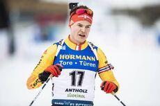 23.02.2020, Antholz, Italy (ITA):Philipp Horn (GER) - IBU world championships biathlon, mass men, Antholz (ITA). www.nordicfocus.com. © Modica/NordicFocus. Every downloaded picture is fee-liable.