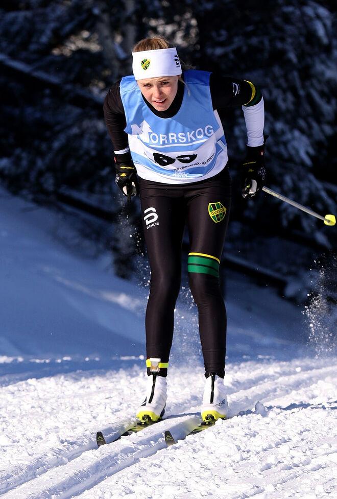 MÄRTA ROSENBERG vann bland annat ungdoms-OS i vintras. Nu får hon Charlotte Kallas stipendium.