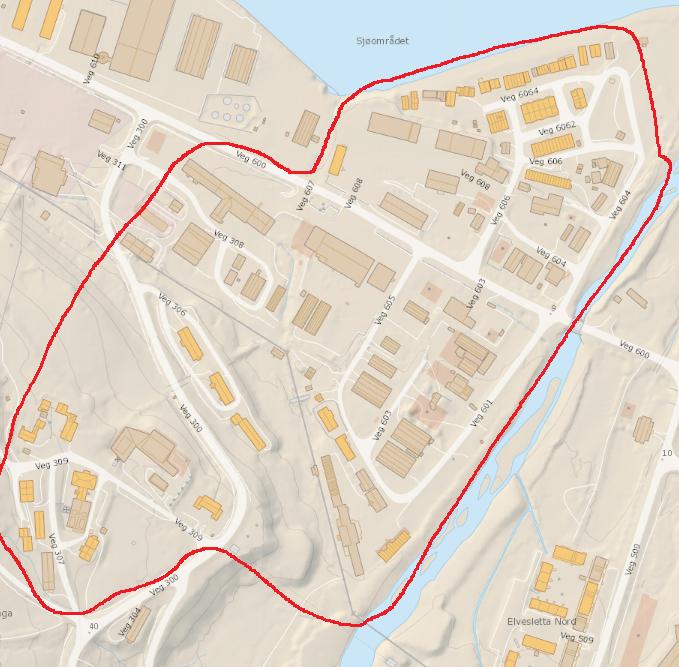 Kartutsnitt Sjøomårdet og Skjæringa.png