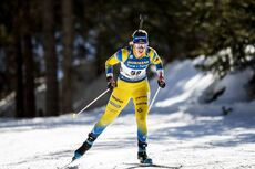 18.02.2020, Antholz, Italy (ITA):Elvira Oeberg (SWE) - IBU World Championships Biathlon, individual women, Antholz (ITA). www.nordicfocus.com. © Modica/NordicFocus. Every downloaded picture is fee-liable.