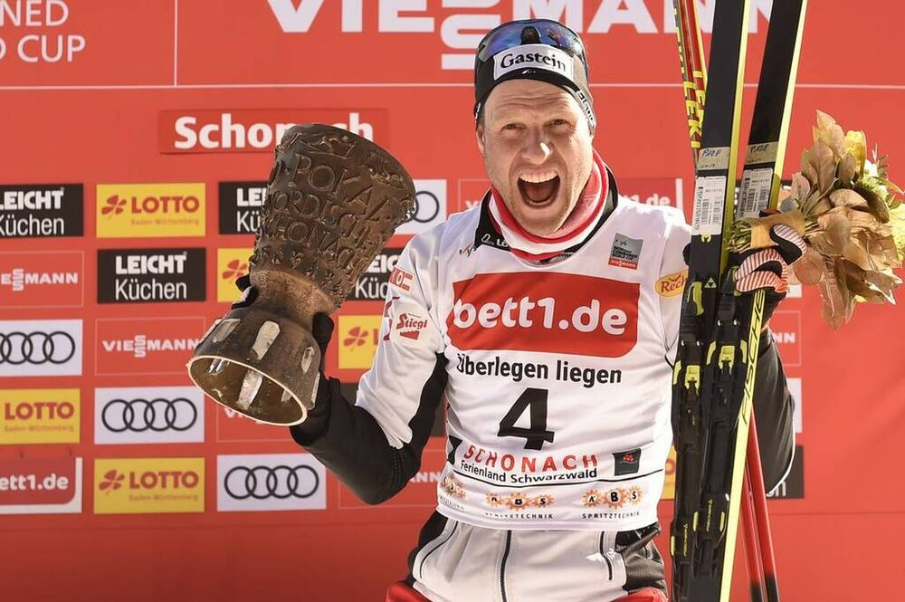 16.03.2019, Schonach, Germany (GER):Bernhard Gruber (AUT) - FIS world cup nordic combined, individual gundersen HS106/10km, Schonach (GER). www.nordicfocus.com. © Thibaut/NordicFocus. Every downloaded picture is fee-liable.