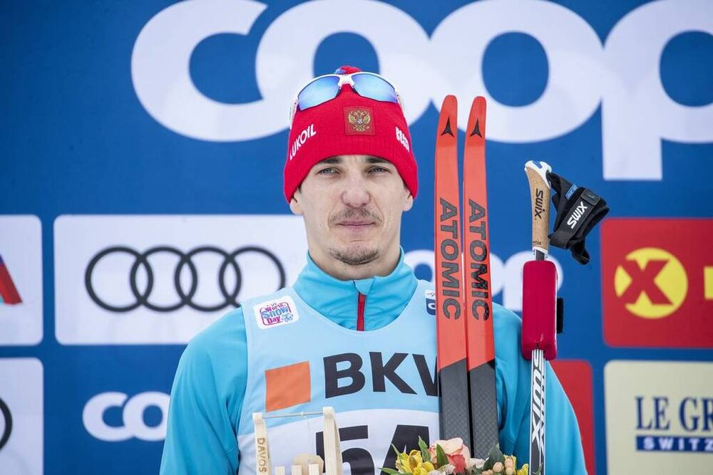 16.12.2018, Davos, Switzerland (SUI):Evgeniy Belov (RUS) - FIS world cup cross-country, 15km men, Davos (SUI). www.nordicfocus.com. © Modica/NordicFocus. Every downloaded picture is fee-liable.