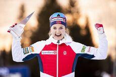 05.01.2020, Val di Fiemme, Italy (ITA):Ingvild Flugstad Oestberg (NOR) - FIS world cup cross-country, tour de ski, final climb women, Val di Fiemme (ITA). www.nordicfocus.com. © Modica/NordicFocus. Every downloaded picture is fee-liable.