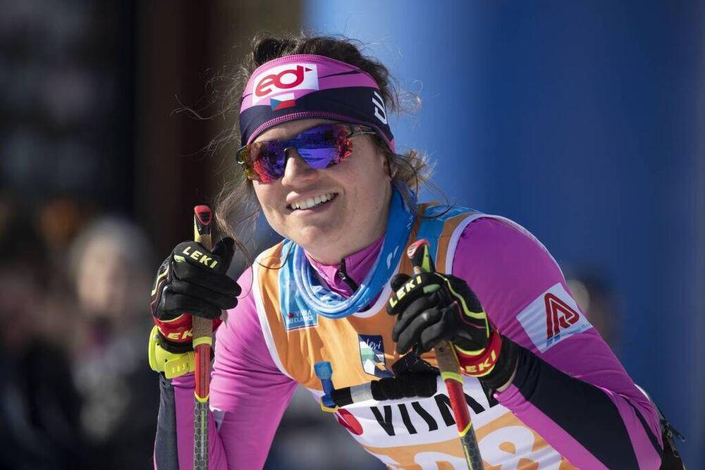 13.04.2019, Levi, Finland (FIN):Roxane Lacroix (FRA) - Visma Ski Classics Yllaes-Levi, Levi (FIN). www.nordicfocus.com. © Christian Manzoni/NordicFocus. Every downloaded picture is fee-liable.