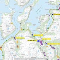 kartoversikt skoler Nordreisa kommune