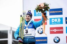23.02.2020, Antholz, Italy (ITA):Quentin Fillon Maillet (FRA) - IBU world championships biathlon, medals, Antholz (ITA). www.nordicfocus.com. © Modica/NordicFocus. Every downloaded picture is fee-liable.
