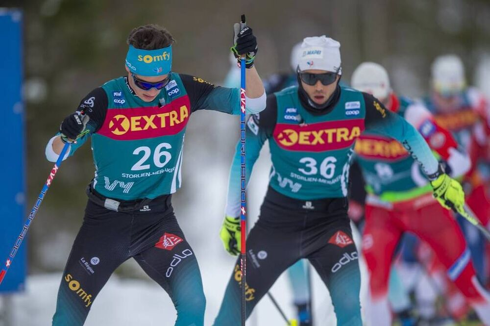 20.02.2020, Storlien-Meraker, Norway (NOR):Clement Parisse (FRA) - FIS world cup cross-country, mass men, Storlien-Meraker (NOR). www.nordicfocus.com. © Thibaut/NordicFocus. Every downloaded picture is fee-liable.