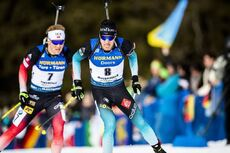 15.02.2020, Antholz, Italy (ITA):Quentin Fillon Maillet (FRA) - IBU World Championships Biathlon, sprint men, Antholz (ITA). www.nordicfocus.com. © Modica/NordicFocus. Every downloaded picture is fee-liable.