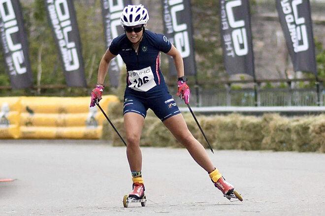 SANDRA OLSSON, Malung hade inga problem att ta hem SM-guldet i damklassen. Foto/rights: ROLF ZETTERBERG/kekstock.com