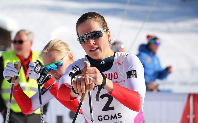 HÄR ÄR TJEJEN som mycket överraskande slog Therese Johaug över 10 km klassisk i Blinkfestivalen och vann damklassen före superjunioren Helene Marie Fossesholm. Foto/rights: KJELL-ERIK KRISTIANSEN/kekstock.com