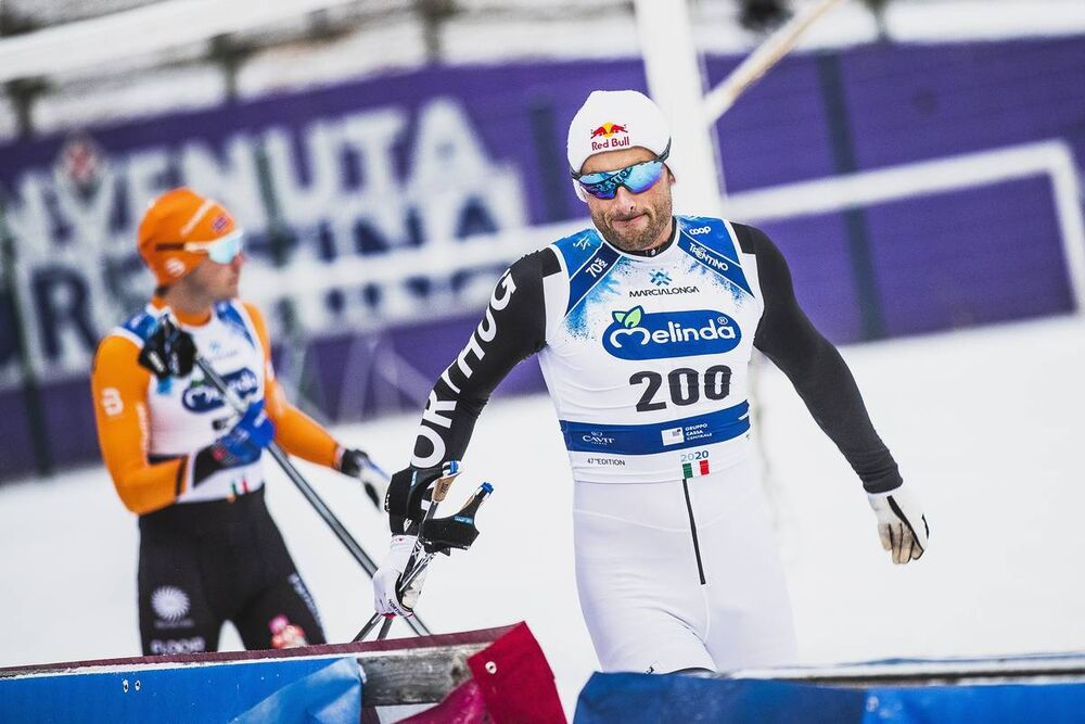 26.01.2020, Molina di Fiemme, Italy (ITA):Petter Northug (NOR) - Visma Ski Classics and FIS Marathon Cup Marcialonga, Molina di Fiemme (ITA). www.nordicfocus.com. © Modica/NordicFocus. Every downloaded picture is fee-liable.