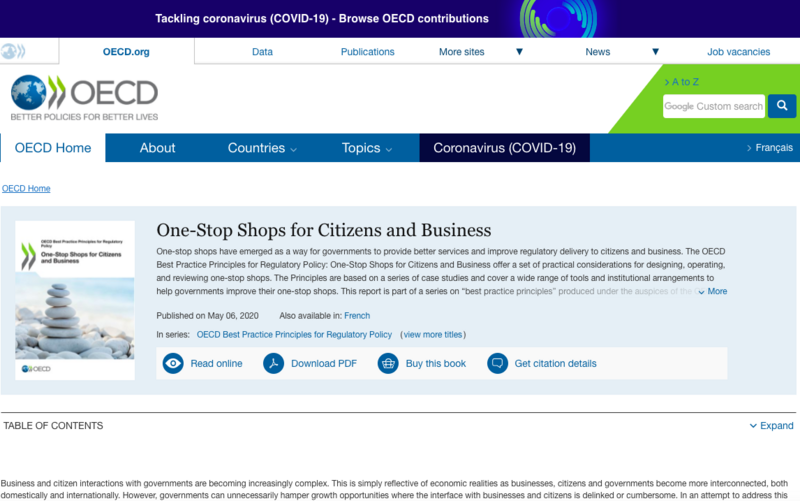 OECD-rapportenBest Practice Principles for Regulatory Policy