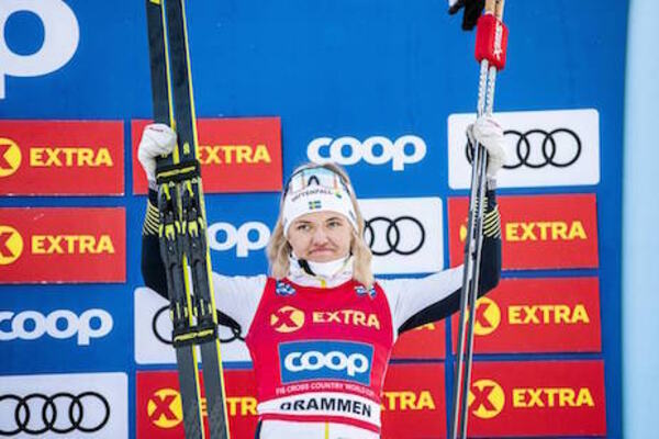 04.03.2020, Konnerud, Norway (NOR):Linn Svahn (SWE) - FIS world cup cross-country, individual sprint, Konnerud (NOR). www.nordicfocus.com. © Modica/NordicFocus. Every downloaded picture is fee-liable.
