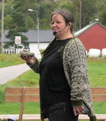 Katja forteller hverdagshistore fra gården under krigen