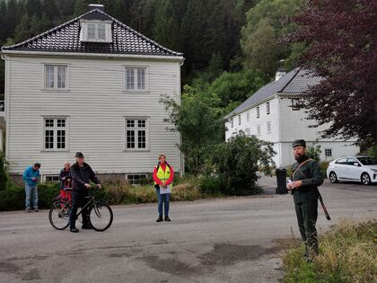 Samuel Høiland forteller om tyskernes aktivitet på Eilivstad