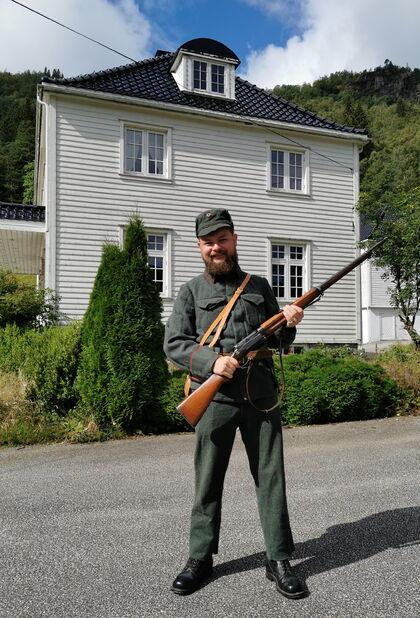 Samuel Høiland på Eilivstad