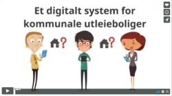 Digitalt system for kommunale utleieboliger
