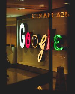 Google i lysskrift