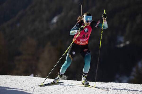 18.02.2020, Antholz, Italy (ITA):Justine Braisaz (FRA) - IBU World Championships Biathlon, individual women, Antholz (ITA). www.nordicfocus.com. © Manzoni/NordicFocus. Every downloaded picture is fee-liable.