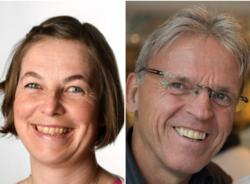 Rita Regbo og Rune Kilen er de nye lederne i NKF veg og trafikk.