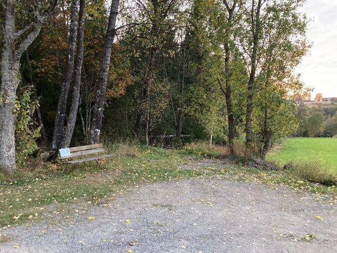 Herumveien, 2 km sør for Meierikrysset