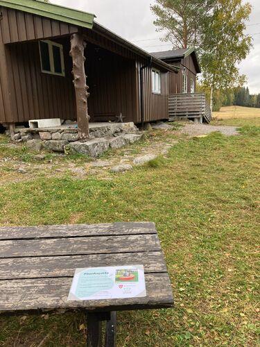 Trampen, speiderhytta i Kroerløypa