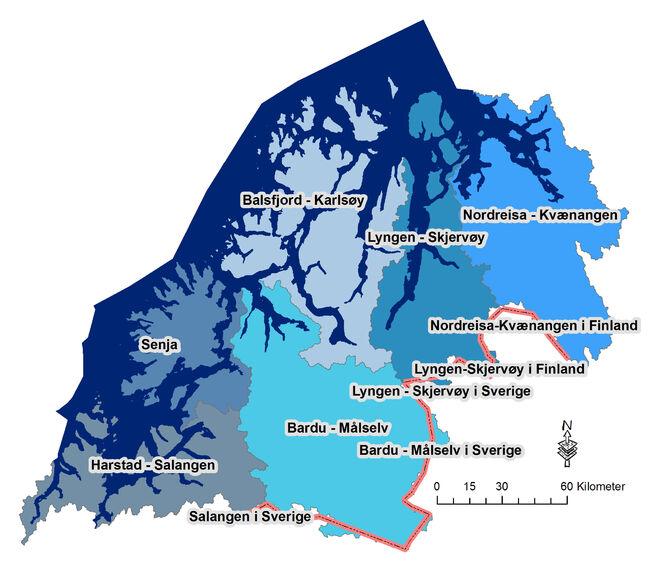 Vannområder Troms