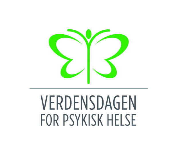 Logo for Verdensdagen for psykisk helse