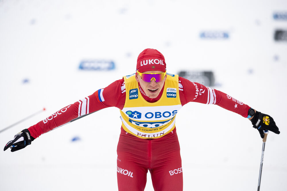 09.02.2020, Falun, Sweden (SWE):Alexander Bolshunov (RUS) - FIS world cup cross-country, 15km men, Falun (SWE). www.nordicfocus.com. © Modica/NordicFocus. Every downloaded picture is fee-liable.