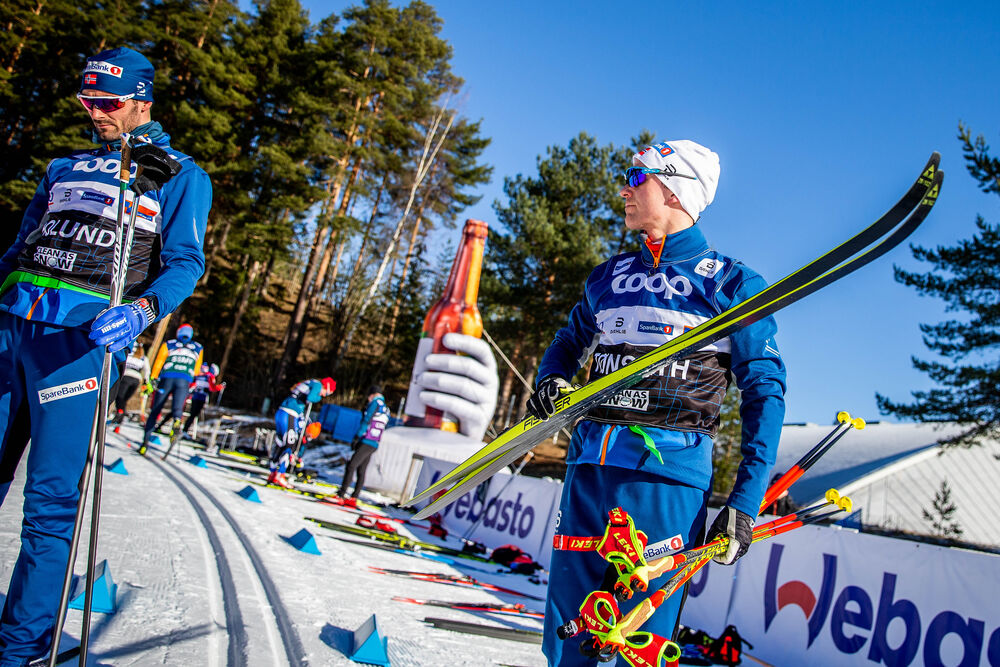28.02.2020, Lahti Finland (FIN):Didrik Toenseth (0) - FIS world cup cross-country, training, Lahti (FIN). www.nordicfocus.com. © Modica/NordicFocus. Every downloaded picture is fee-liable.