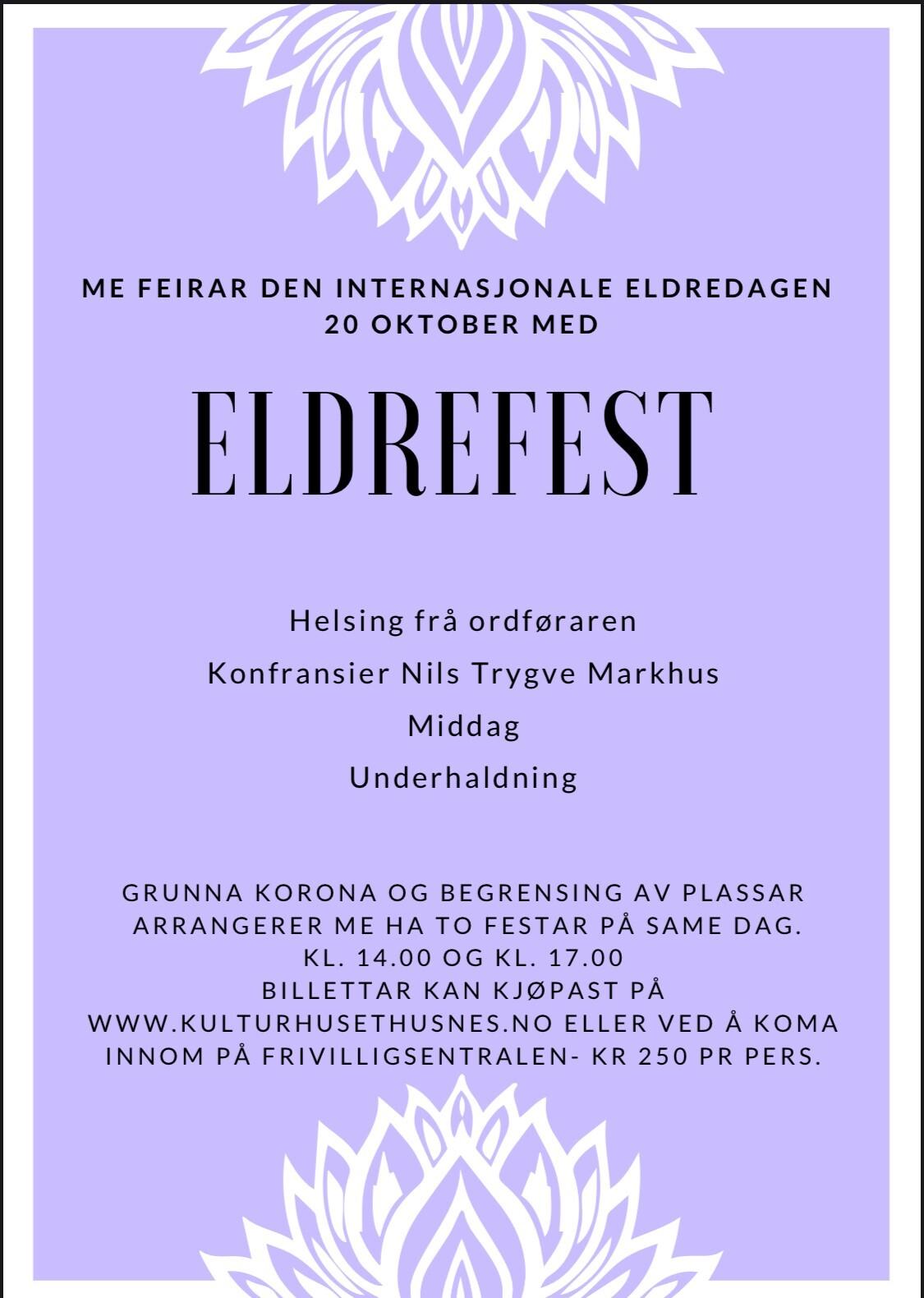 Eldrefest