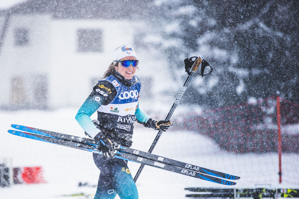 13.12.2019, Davos, Switzerland (SUI):Laura Chamiot Maitral (FRA) - FIS world cup cross-country, training, Davos (SUI). www.nordicfocus.com. © Modica/NordicFocus. Every downloaded picture is fee-liable.