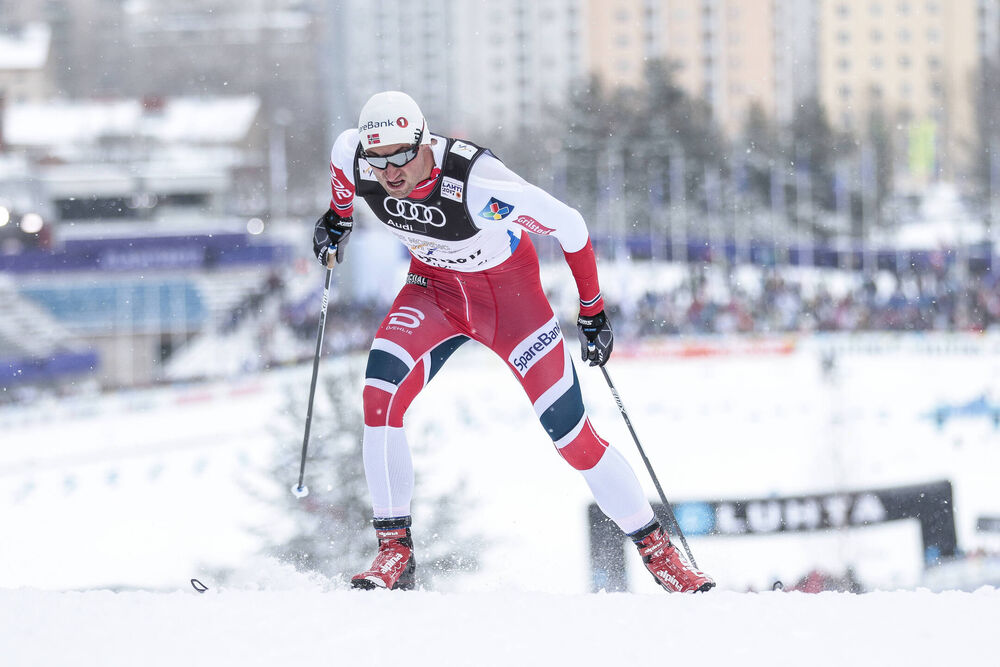 23.02.2017, Lahti, Finland (FIN):Petter Jr. Northug (NOR) - FIS nordic world ski championships, cross-country, individual sprint, Lahti (FIN). www.nordicfocus.com. © Modica/NordicFocus. Every downloaded picture is fee-liable.