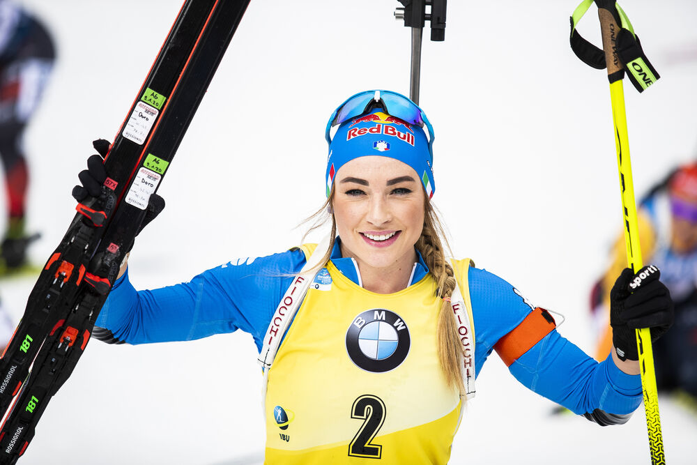 23.02.2020, Antholz, Italy (ITA):Dorothea Wierer (ITA) - IBU world championships biathlon, mass women, Antholz (ITA). www.nordicfocus.com. © Modica/NordicFocus. Every downloaded picture is fee-liable.