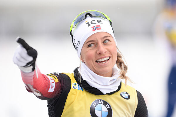 19.01.2020, Ruhpolding, Germany (GER):Tiril Eckhoff (NOR) -  IBU world cup biathlon, pursuit women, Ruhpolding (GER). www.nordicfocus.com. © Tumashov/NordicFocus. Every downloaded picture is fee-liable.
