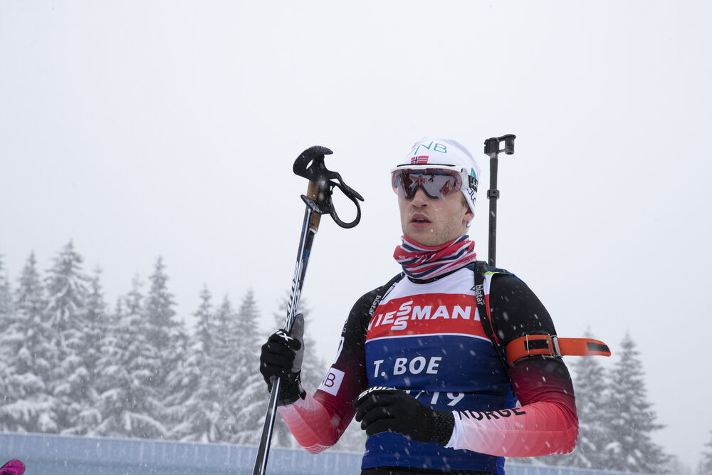 09.01.2019, Oberhof, Germany (GER):Tarjei Boe (NOR) -  IBU world cup biathlon, training, Oberhof (GER). www.nordicfocus.com. © Manzoni/NordicFocus. Every downloaded picture is fee-liable.
