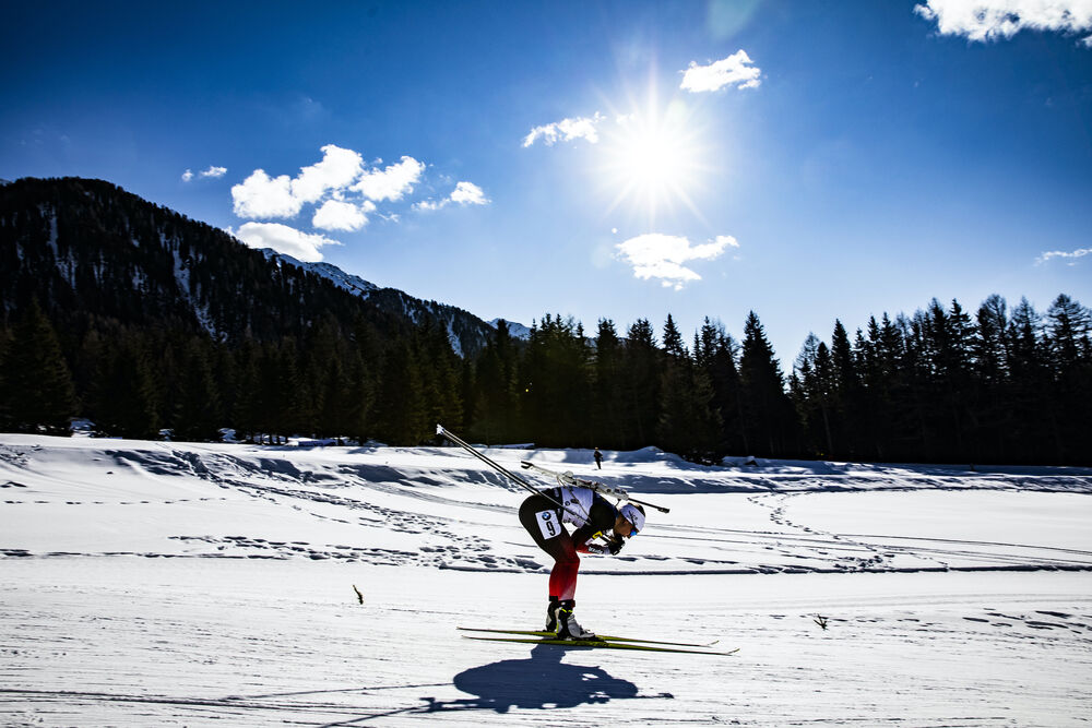 18.02.2020, Antholz, Italy (ITA):Tiril Eckhoff (NOR) - IBU World Championships Biathlon, individual women, Antholz (ITA). www.nordicfocus.com. © Manzoni/NordicFocus. Every downloaded picture is fee-liable.