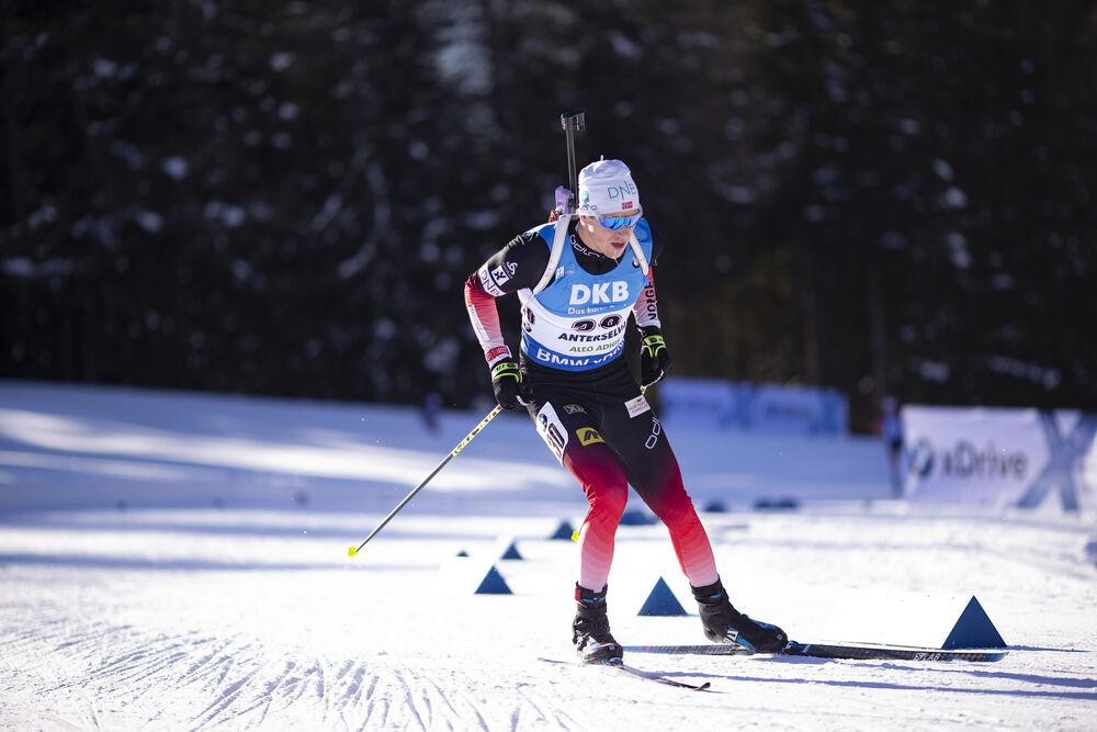 25.01.2019, Antholz, Italy (ITA):Vetle Sjaastad Christiansen (NOR) -  IBU world cup biathlon, sprint men, Antholz (ITA). www.nordicfocus.com. © Manzoni/NordicFocus. Every downloaded picture is fee-liable.