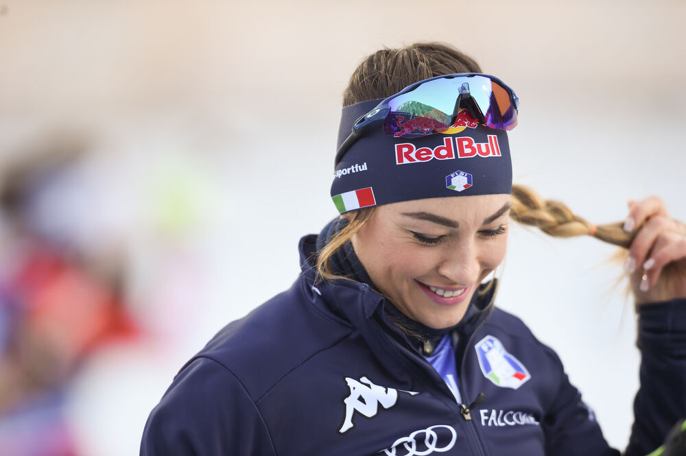 17.01.2020, Ruhpolding, Germany (GER):Dorothea Wierer (ITA) -  IBU world cup biathlon, relay women, Ruhpolding (GER). www.nordicfocus.com. © Tumashov/NordicFocus. Every downloaded picture is fee-liable.