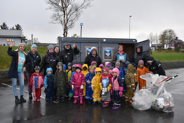 Tv-aksjonen 2020_søppelaksjon_barnehagen 1