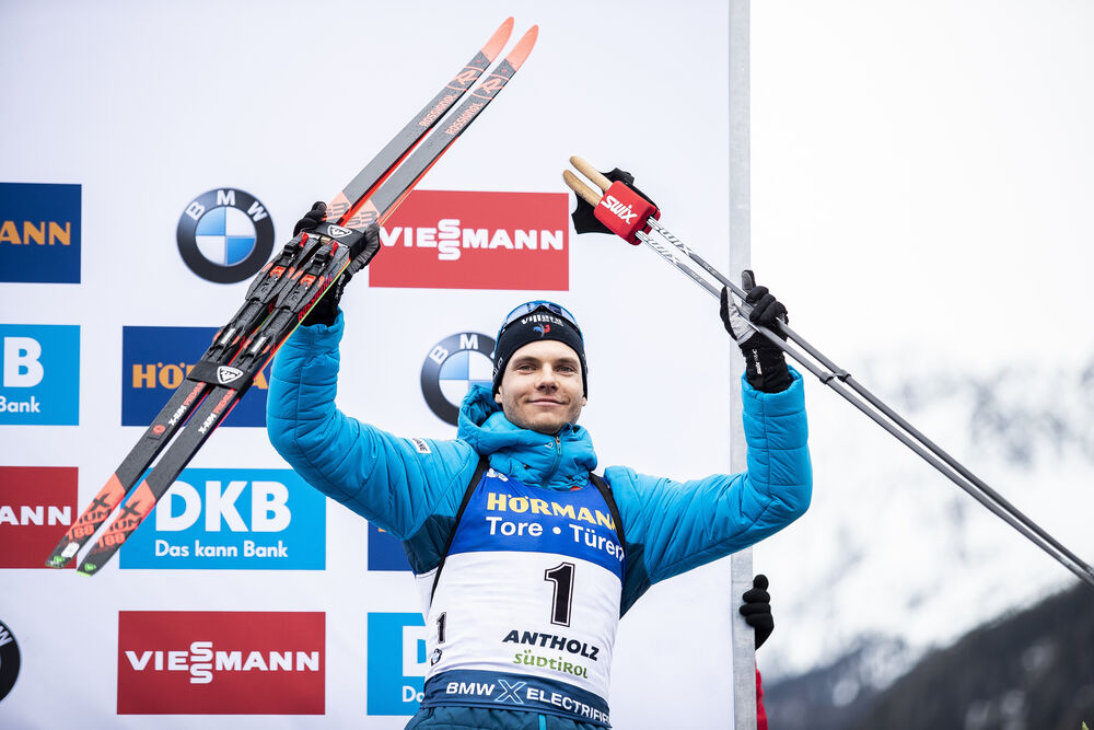 23.02.2020, Antholz, Italy (ITA):Emilien Jacquelin (FRA) - IBU world championships biathlon, mass men, Antholz (ITA). www.nordicfocus.com. © Modica/NordicFocus. Every downloaded picture is fee-liable.