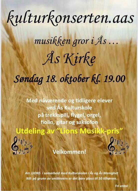 ÅS kirke konsert
