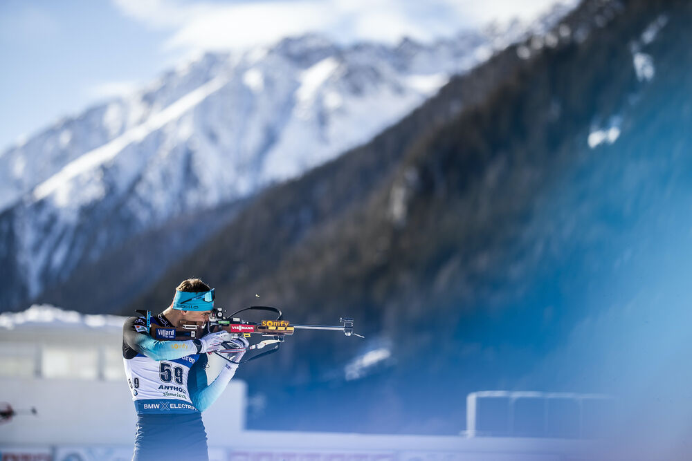 15.02.2020, Antholz, Italy (ITA):Emilien Jacquelin (FRA) - IBU World Championships Biathlon, sprint men, Antholz (ITA). www.nordicfocus.com. © Modica/NordicFocus. Every downloaded picture is fee-liable.