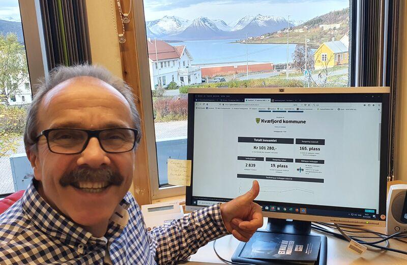 Bilde av ordfører Torbjørn Larsen