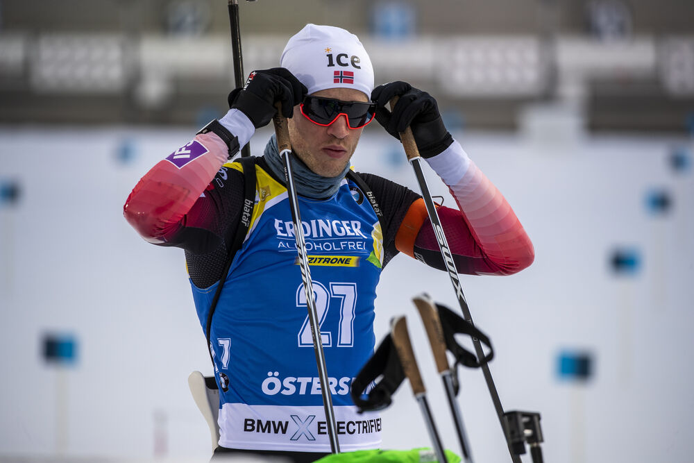 01.12.2019, Oestersund, Sweden, (SWE):Tarjei Boe (NOR) - IBU world cup biathlon, sprint men, Oestersund (SWE). www.nordicfocus.com. © Nico Manzoni/NordicFocus. Every downloaded picture is fee-liable.
