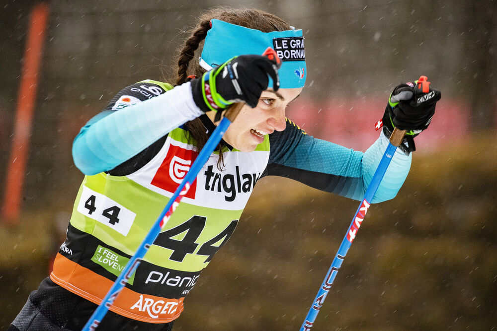 21.12.2019, Planica, Slovenia (SLO):Lena Quintin (FRA) - FIS world cup cross-country, individual sprint, Planica (SLO). www.nordicfocus.com. © Modica/NordicFocus. Every downloaded picture is fee-liable.