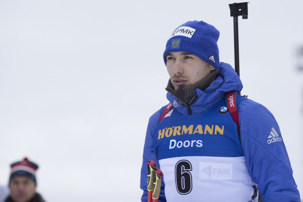 16.12.2017, Annecy-Le Grand Bornand, France (FRA):Anton Shipulin (RUS) -  IBU world cup biathlon, pursuit men, Annecy-Le Grand Bornand (FRA). www.nordicfocus.com. © Manzoni/NordicFocus. Every downloaded picture is fee-liable.